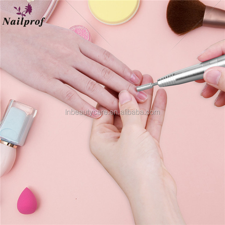 Nailprof. Portable electric pen style mini nail drill