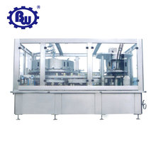 canned soft drink filling and sealing machine for tin/alu can