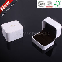 2014 high quality plastic boxes with foam insert for ring packaging