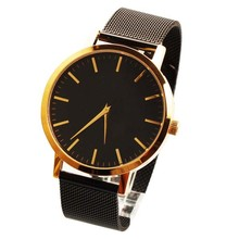 2017 Wholesale high quality quartz custom genuine leather unisex vogue watch