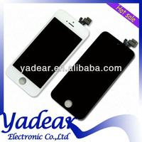 100% original super quality for iphone 5 screen display with touch lcd