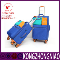 Customize designer women's leisure duffle bag rolling trolley travel bag for short time trip