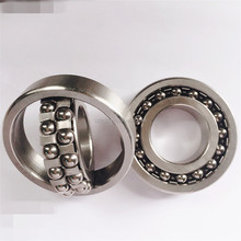 Stainless steel self-aligning ball bearing S1207