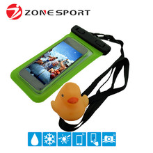 China Wholesale Cell Phone Accessory PVC Mobile Phone Waterproof Dry Bag