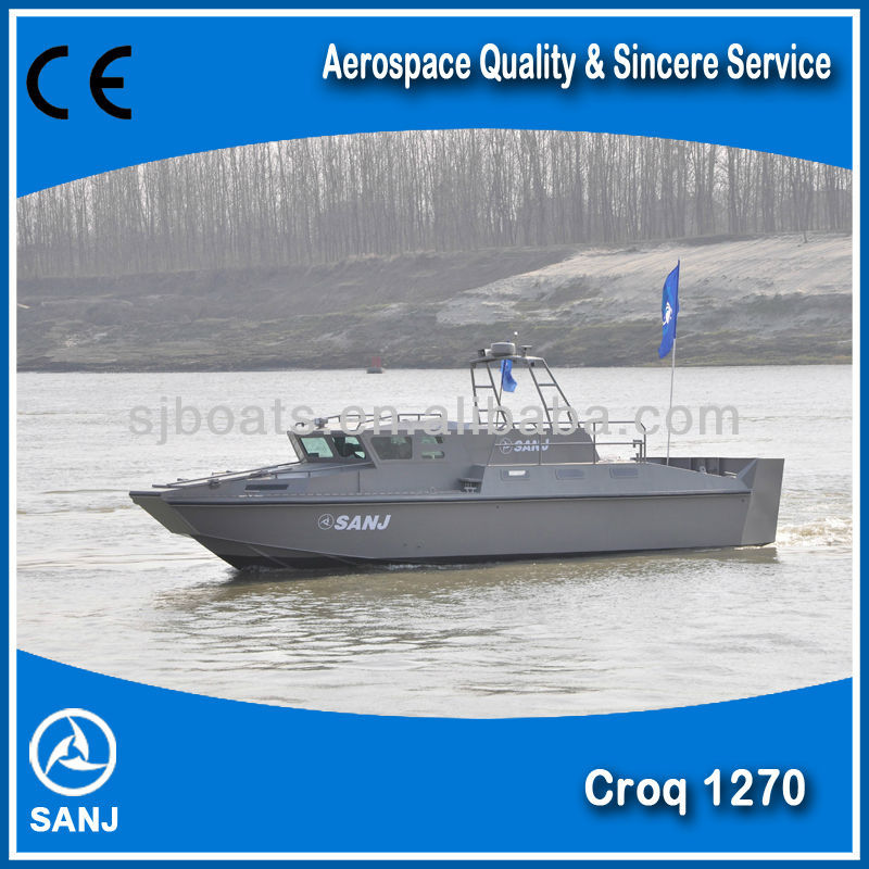 SANJ High Speed Aluminiumused Patrol Boat used CROQ1270