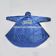 Manufacturers logo custom long poncho motorcycle bicycle raincoat