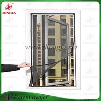 Chain store popular patent aluminum window frames mosquito netting