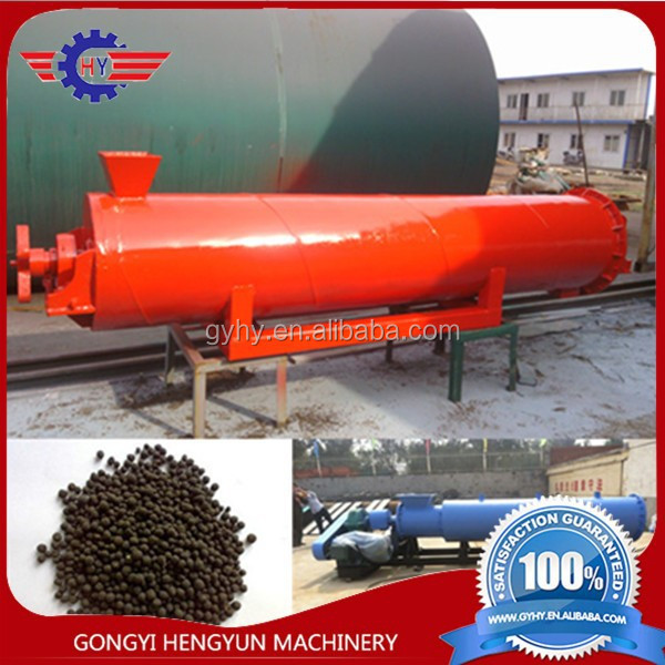 orange tree fertilizer making machine/pecan tree fertilizer granulator