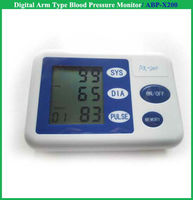 Aneroid arm type air pump blood pressure moniter big screen bp meter with CE/FDA blood pressure meter