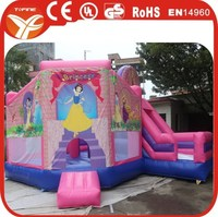 2015 inflatable princess bouncy castle