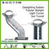 2016 hot!!!Factory direct sale without electricity lighting system sun tunnel , solar skyight , skylight tunnel