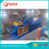 Recycled Equipment Semi Automatic Horizontal fast baler