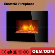 36 Curved Imitation Fire Wall Hanging Electric Kmart Fireplace With Remote Control