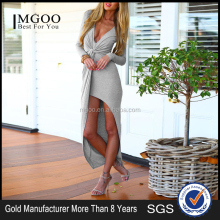 MGOO Stock Wholesale High Quality your own brand clothing Designer One Piece Party Wear Dress Patterns 8227