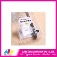 wonderful kit Packaging Box,clear plastic PET box for pencil case
