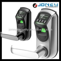 L7000 Battery Zinc Alloy OLED Biometric Fingerprint door lock