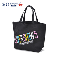DONGGUAN BOSHINE Cheap 600D PVC Promotional Foldable reusable Shopping Bag