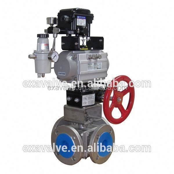 BV 340 Four Way Pneumatic Control Valve (T or L Type)