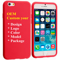 Can Do Custom Protective Silicone Mobile Phone Cases with Any Logo Desgin
