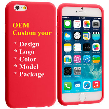Wholesale Brand Silicone Mobile Phone Cases Design