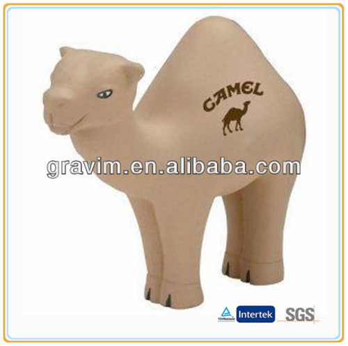 Custom camel stress ball for children