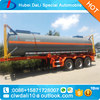 Semi Trailer Tankers Transport Hydrochloric Acid