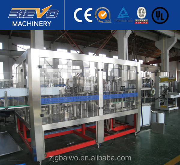 Turn key project carbonated beverage production line/filling machine/plant