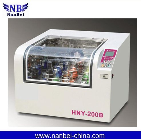 HNY-200B SALE refrigerated shaker incubator lab with USB data automatic record