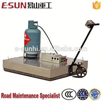 Mini infrared bitumen pavement reclaimer