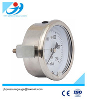 63mm Liquid Filled Stainless Steel Case glycerine or silicone oil filled pressure gauge