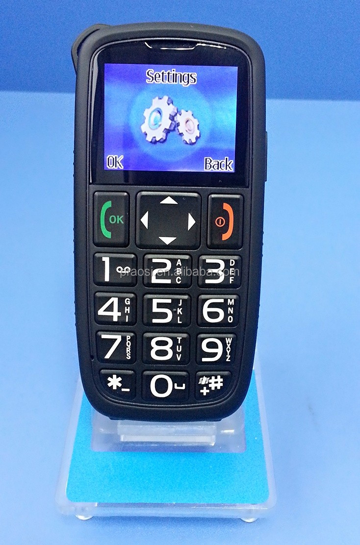sos one key call cell phone elderly mobile phone