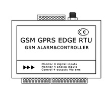 Telemetry device gsm water level controller gsm access control