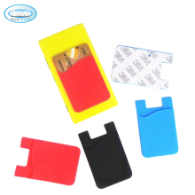 wholesale silicone smart mobile phone wallet pocket card holder