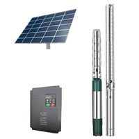 1KW-110KW solar powered submersible water pump system for agriculture irrigation