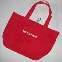 top quality handle canvas shopping bags