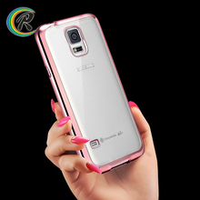 Luxury Silicon case for samsung galaxy note 3 lite n7505 for Galaxy S5 colorful plating tpu shell