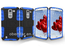 Hot Two in One Mobile Phone Silicone Protective Shell Hard Case For LG Optimus G Pro 2