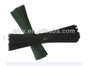 Round Hard Straight Dyed Bamboo sticks for support flower