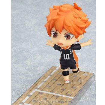Gzltf New Hot Sale PVC 10cm Haikyuu Q Ver 461# No.10 Hinata Syouyou Action Figure