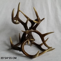 polyresin elk antler craft ,deer antler crafts