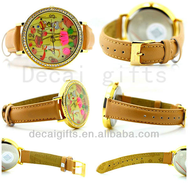New fashion watches lady steel watches 2013 ladies ribbon watch
