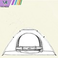 outdoor/portable/flexible/family/easy/camping tent