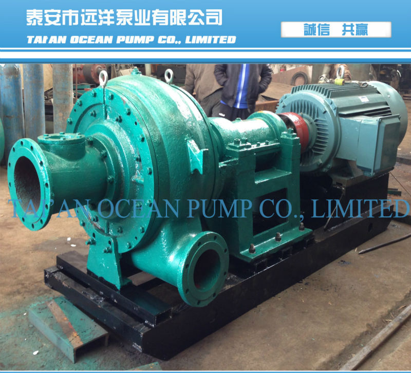 Heavy duty sand mud suction pump
