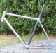 titanium touring bike frame titanium gravel bike frame Ti& carbon bike frame