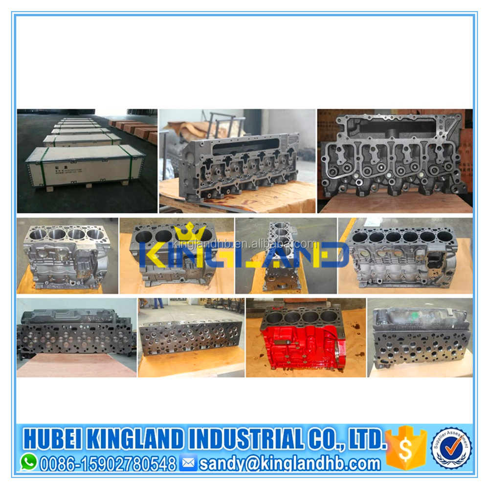 China high quality auto diesel engine parts ISF2.8 cylinder block 5261257