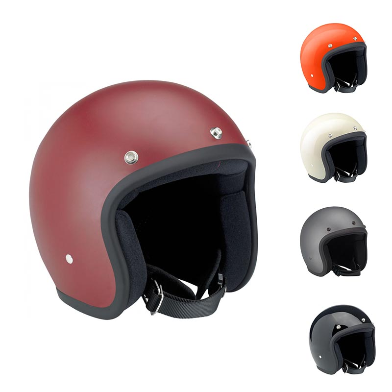 2017 hot sale motorcycle spare parts solid color motorcycle helmet