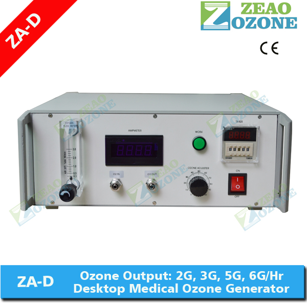 ZA-D longevity medical ozone therapy machine o3 generator 3g for physical therapy
