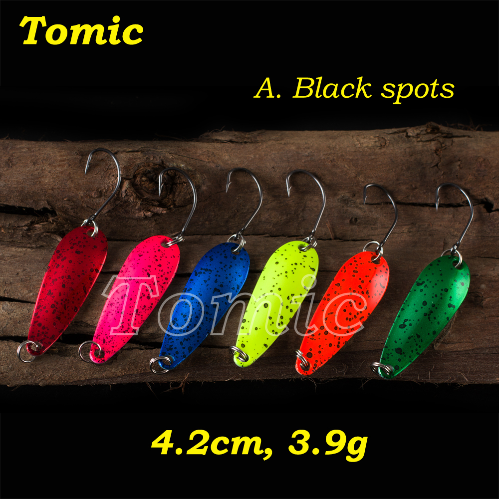 Willow Shape Casting fishing Spoon micro lure