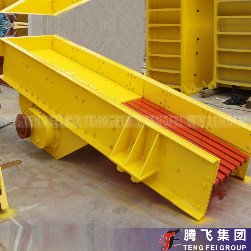 Mechanical Vibrating Feeder for Duilding Materials