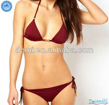 2014 sexy girl micro bikini swimwear models Hot sale tassel bikini swimwear for OEM service